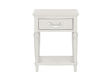 Annecy 1 Drawer Nightstand in Soft Grey on FV