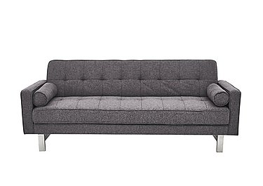 Newman Fabric Sofa Bed in Charcoal Grey on FV