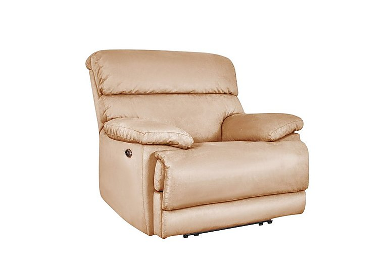 Cupola Recliner Armchair in Atl-R050-Pebble on FV