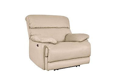 Cupola Fabric Recliner Armchair in Atl-R050-Pebble on Furniture Village