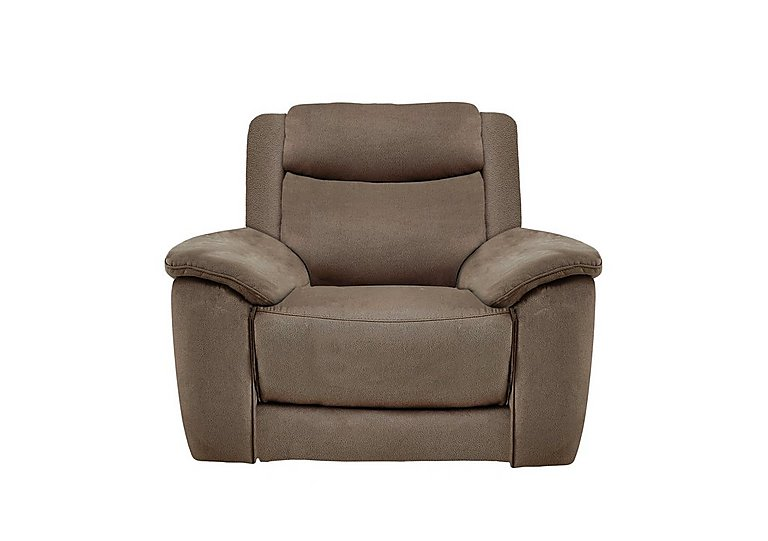 Bounce Fabric Recliner Armchair