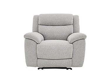 Bounce Fabric Recliner Armchair in Fab-Chl-R21 Chilli Frost on FV