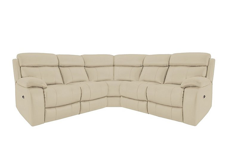 Moreno leather recliner corner sofa for 2395 home for Leather sofa deals