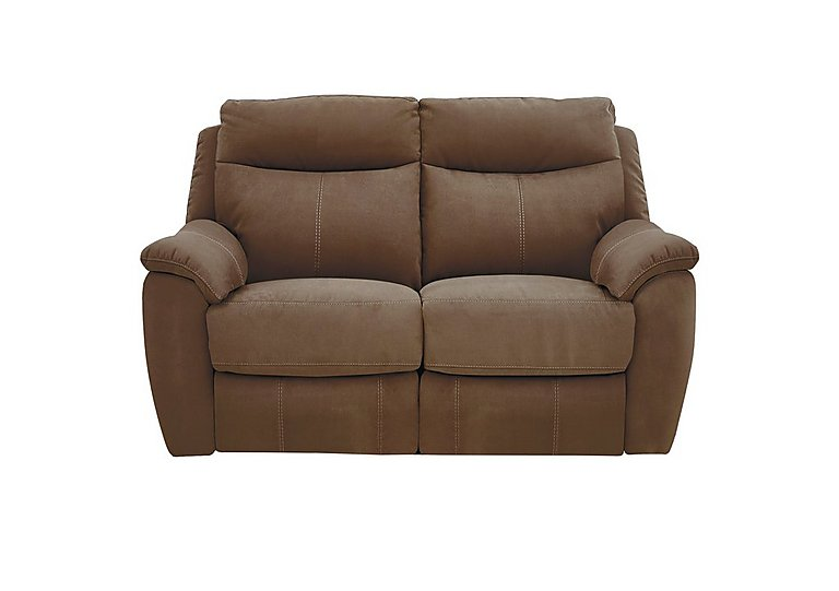 Snug 2 Seater Fabric Recliner Sofa