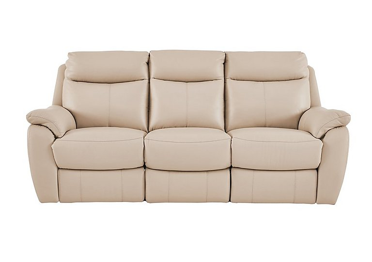 Snug 3 Seater Leather Recliner Sofa