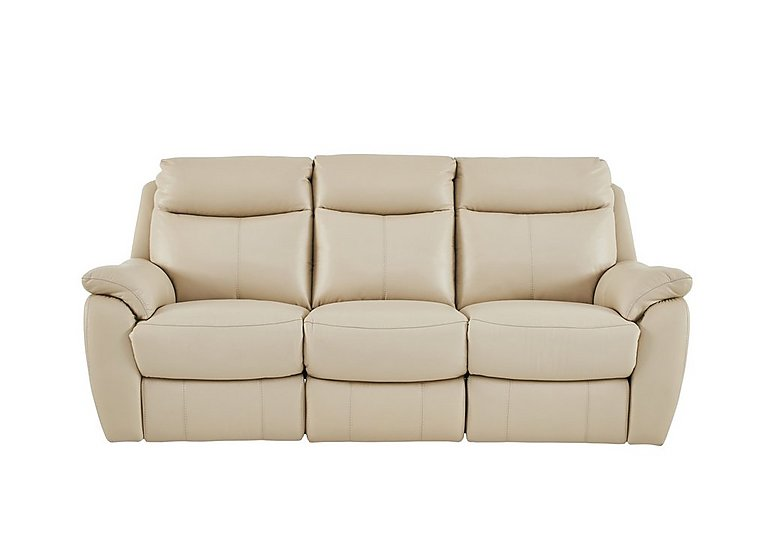 Snug 3 seater leather recliner sofa for 1095 home for Leather sofa deals