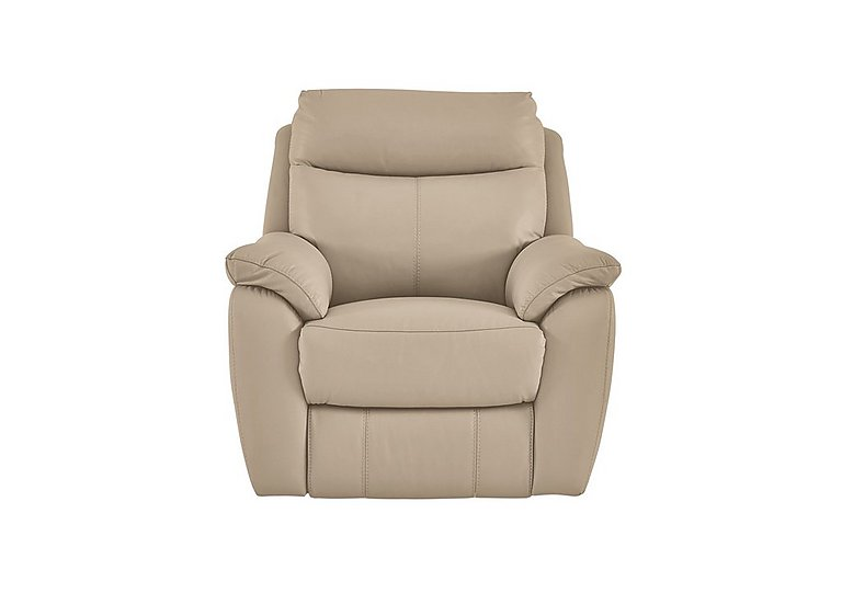 Snug Leather Recliner Armchair