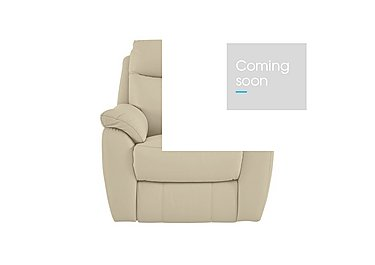 Snug Leather Recliner Armchair in Bv-862c Bisque on FV