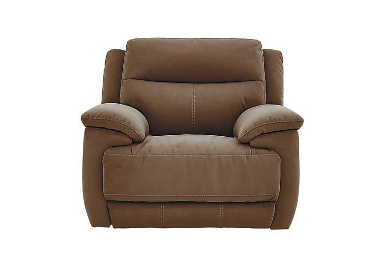 Touch Fabric Recliner Armchair