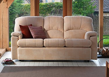 Chloe 2 Seater Fabric Recliner Sofa in  on FV