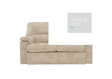 Chloe 2 Seater Fabric Recliner Sofa in C020 Checkers Oyster on FV