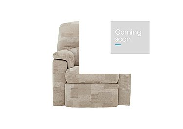 Chloe Small Fabric Recliner Armchair in C008 Checkers Putty on FV