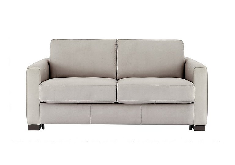 Alcova 2 Seater Fabric Sofa Bed with Box Arms