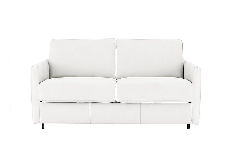 Alcova 2 Seater Fabric Sofa Bed with Slim Arms