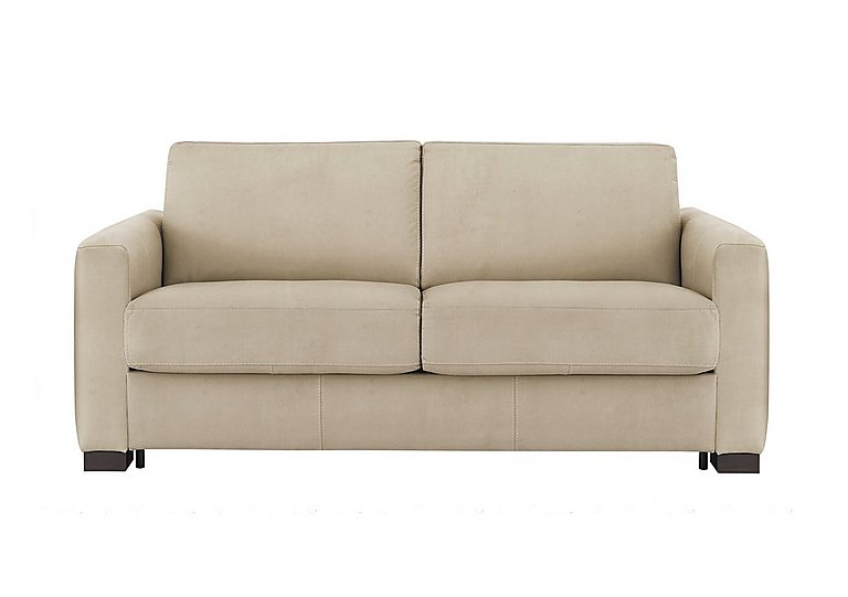 Alcova 2.5 Seater Fabric Sofa Bed with Box Arms
