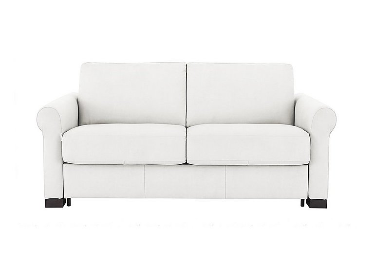 Alcova 2.5 Seater Fabric Sofa Bed with Scroll Arms
