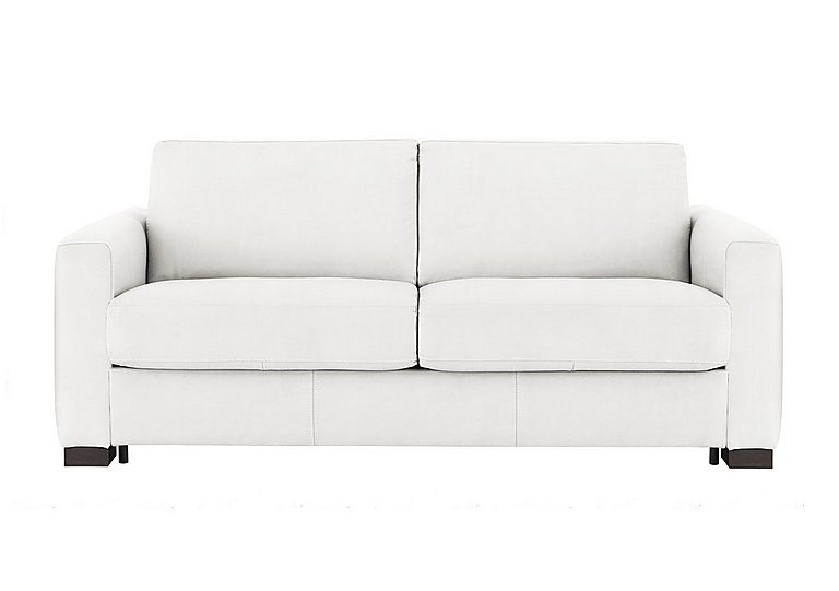 Alcova 3 Seater Fabric Sofa Bed with Box Arms