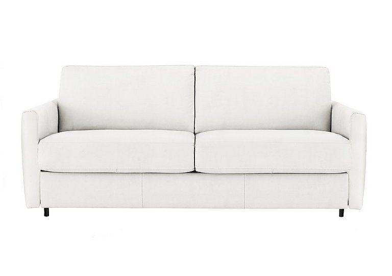 Alcova 3 Seater Fabric Sofa Bed with Slim Arms