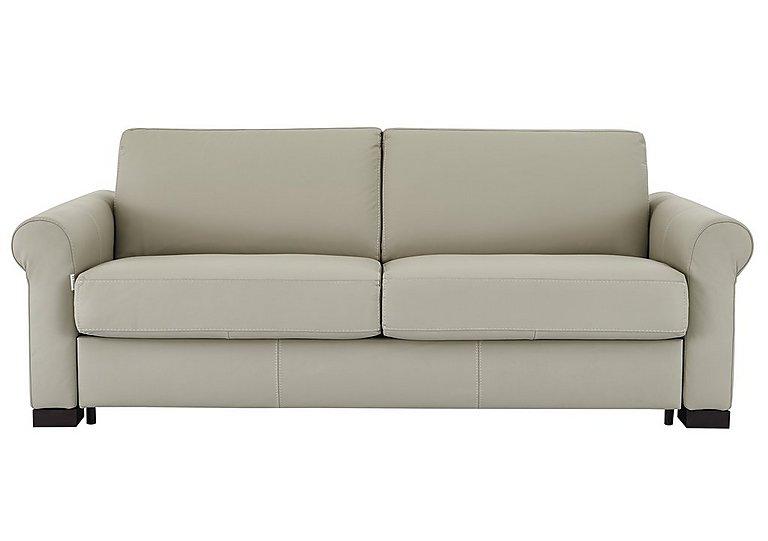 Alcova 3 Seater Leather Sofa Bed