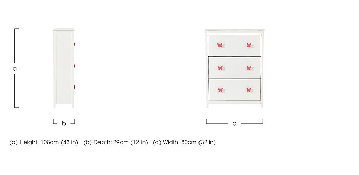 Blossom Shoe Cabinet in  on Furniture Village