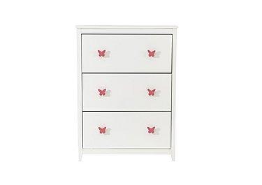 Blossom Shoe Cabinet in Pink on Furniture Village