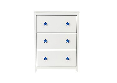 Supernova Shoe Cabinet in Blue on Furniture Village