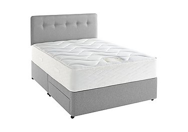 Supreme Memory Comfort 1400 Divan Set in 7241 Mist on FV