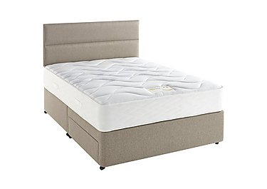 Supreme Comfort 1000 Divan Set in 7240 Taupe on FV