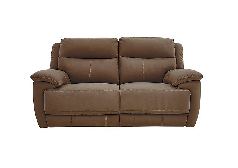 Touch 2 Seater Fabric Recliner Sofa