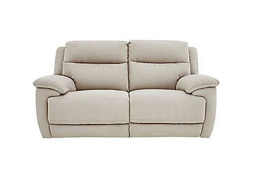 Touch 2 Seater Fabric Recliner Sofa in Bfa-Blj-Rt20 Bisque on FV