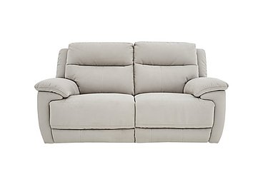 Touch 2 Seater Fabric Recliner Sofa in Bfa-Mad-R02 Silver Grey on Furniture Village