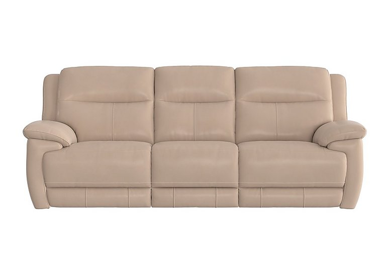 Touch 3 Seater Leather Recliner Sofa