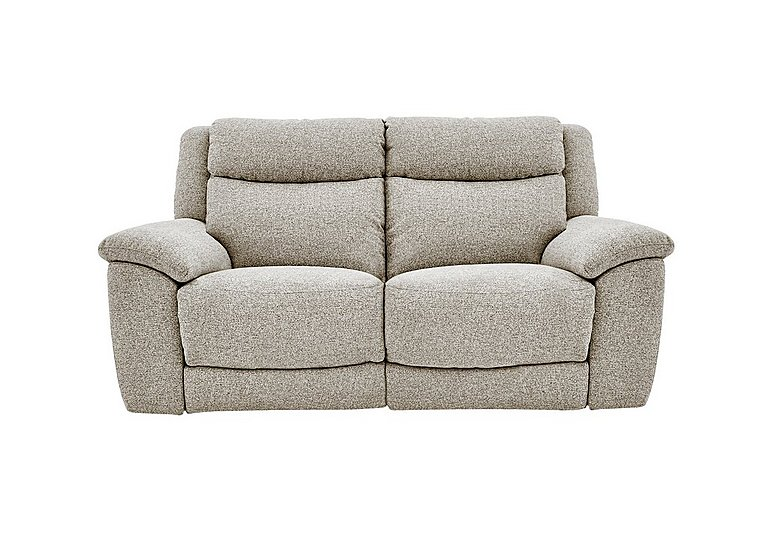 Bounce 2 Seater Fabric Recliner Sofa in Fab-Chl-R25 Chilli Biscuit on FV
