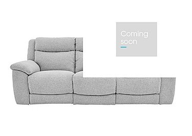 Bounce 3 Seater Fabric Recliner Sofa in Fab-Chl-R21 Chilli Frost on FV