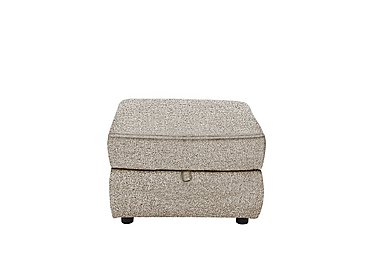Bounce Fabric Storage Footstool in Fab-Chl-R25 Chilli Biscuit on FV
