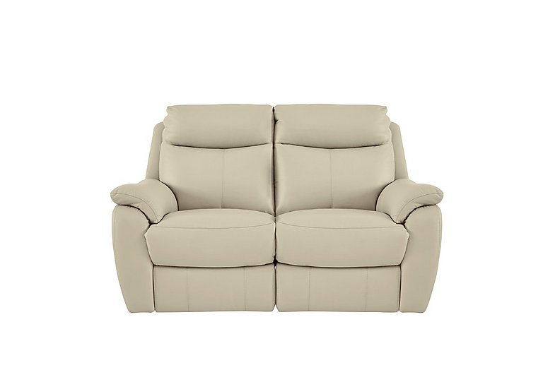 Snug 2 Seater Leather Recliner Sofa