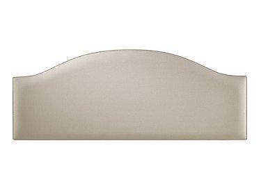 Curvy Headboard in 6633 French Linen on Furniture Village
