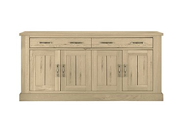 Pierre 4 Door Sideboard in Oak on FV