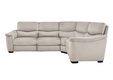 Flex Fabric Recliner Corner Sofa in Bfa-Blj-Rt20 Bisque on FV
