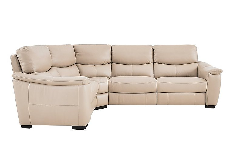 Flex Leather Recliner Corner Sofa