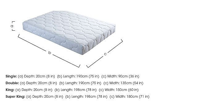 Presto Pocket 1000 Roll Up Mattress in  on FV