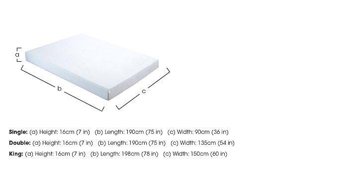 Reflex Roll Up Foam Mattress in  on FV