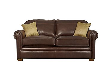 The Derwent Collection Eastmoor 2 Seater Leather Sofa in 1035-31 Dallas Tan on Furniture Village