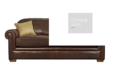 The Derwent Collection Eastmoor 4 Seater Leather Sofa in 1035-31 Dallas Tan on FV