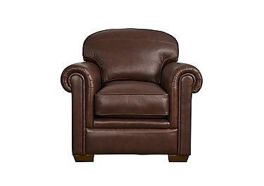 The Derwent Collection Eastmoor Leather Armchair in 1035-31 Dallas Tan on FV