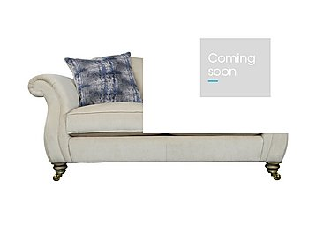 The Derwent Collection Cavendish 2 Seater Fabric Sofa in 1341-51 Vista Oyster on FV