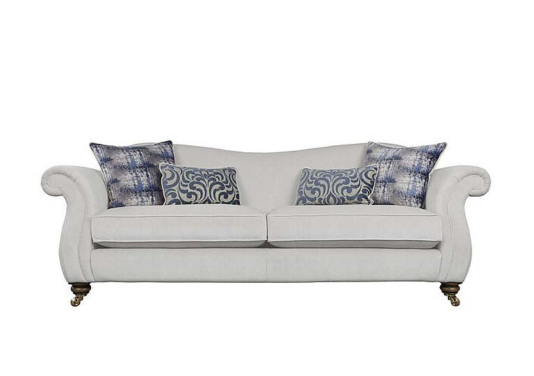 The Derwent Collection Cavendish 4 Seater Fabric Sofa
