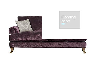 The Derwent Collection Bradwell 3 Seater Fabric Sofa in 1113-71 Mancini Aubergine on FV