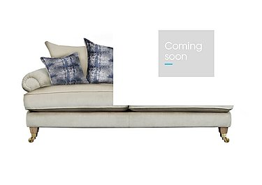 The Derwent Collection Bradwell 3 Seater Fabric Sofa in 1341-51 Vista Oyster on FV