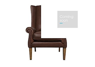The Derwent Collection Hathersage Leather Armchair in 1035-31 Dallas Tan on FV